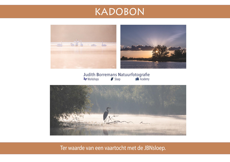 Kadobon Beleef De Biesbosch Met JBNsloep