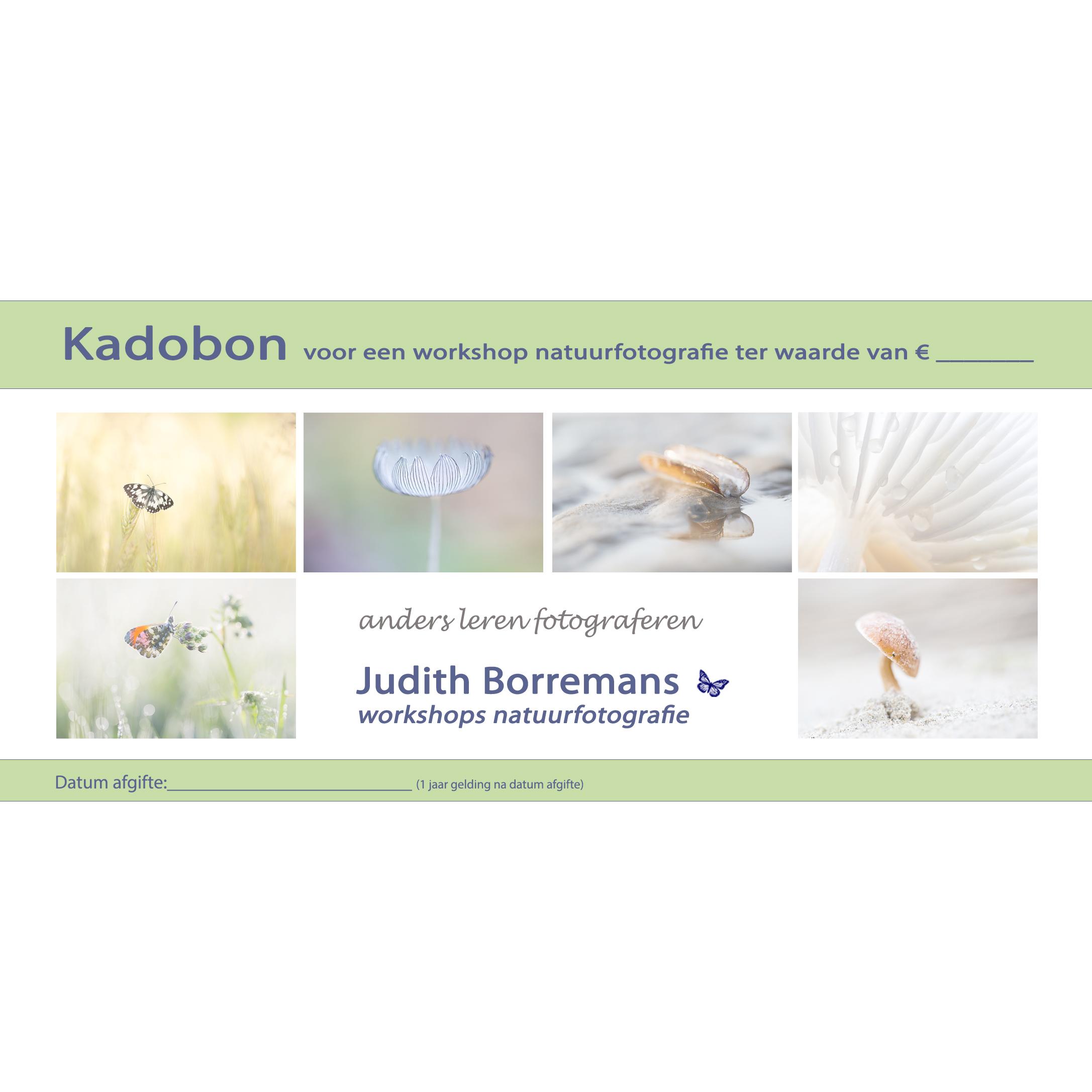 Kadobon Workshop Natuurfotografie