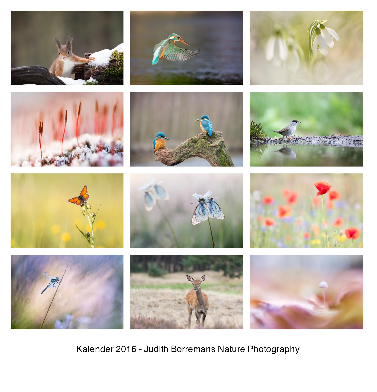 Natuurkalender 2016
